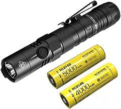 Combo: Nitecore MH12 V2 CREE XP-L2 V6 Lanterna LED -1200 lúmens -21700 bateria (incluída) + Bateria NL2140 21700 4000mAh
