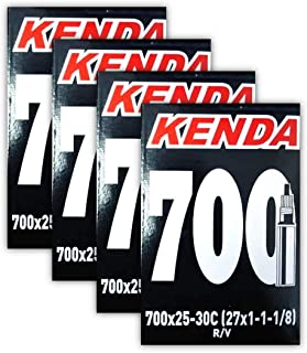 Kenda. 700x25-30c Road Bike Inner Tubes - FOUR (4) PACK