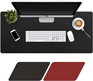 Levoit Desk Mat Large 90x40cm, Double-Sided Desk Pad, PU Leather Gaming Mouse Pad for PC Laptop, Waterproof Mouse Keyboard...