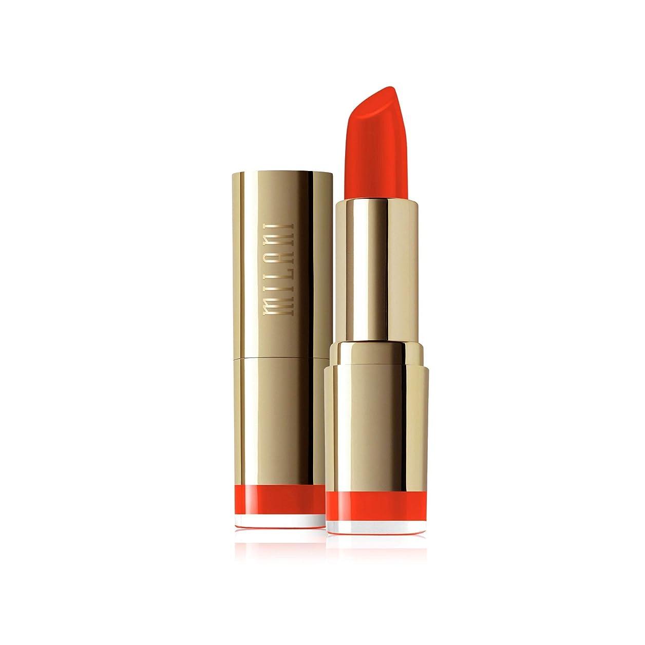 揮発性者芝生Milani Color Statement Moisture Lipstick, Matte Passion