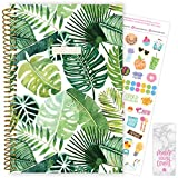 bloom daily planners 2020-2021 Academic Year Day Planner (July 2020 - July 2021) Organizer & Calendar - Weekly/Monthly Dated Agenda Book with Stickers & Bookmark - 6' x 8.25' - Tropical Palm Leaves