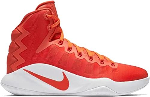 NIKE Wohommes Hyperdunk 2016 TB Basketball chaussures (9 B(M) US, Team Orange Metallic argent)