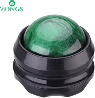 Manual Massage Ball Pain Relief Back Roller Massager Self Massage Therapy and Relax Full Body Tools for Sore Muscle Joint Pain Essential Oils or Lotion Relax (Green)