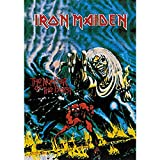 Cyberteez Iron Maiden Number of The Beast Tapestry Cloth Poster Flag Wall Banner 30' x 40' Black