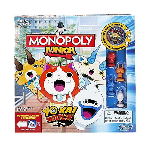 Hasbro Monopoly Junior: Yo-Kai Watch Edition by