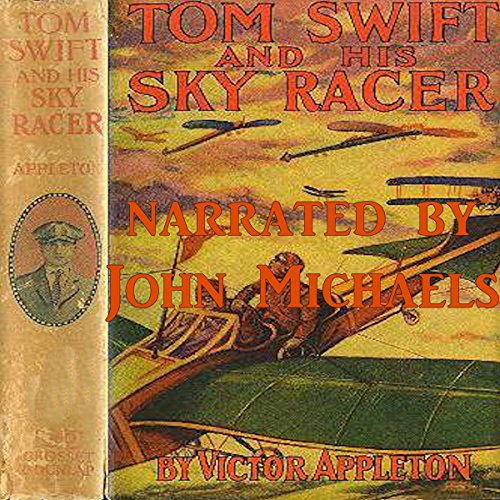 Tom Swift and His Sky Racer audiobook cover art
