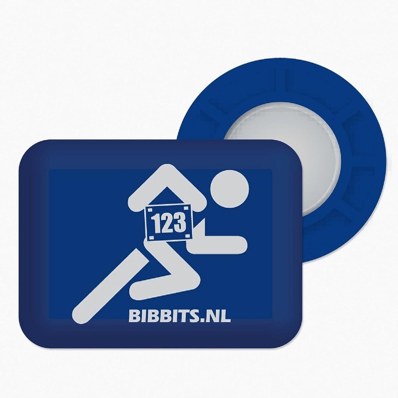 BibBits Magnetic Race Bib Holders (Runner Design)
