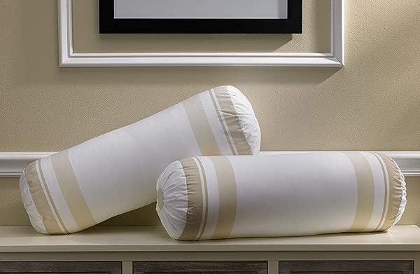 Marriott Pillow Insert Bolster White 21x8 In