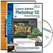 Adobe Photoshop CC Tutorial plus Adobe Illustrator CC Training all on 5 DVDs