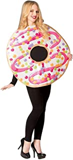 White Frosted Donut Adult Costume-