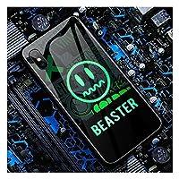 IPhone 11専用ケース着信光るApple X携帯電話ケースiPhone 11 Pro スマートフラッシュiPhone XS Maxカラフルグロー 8 プラスボイスコントロール IPhone XRクールな質感 7P オールインクルーシブアンチフォールカップルパーソナリティクリエイティブ携帯電話ケース,A-IphoneXsMax