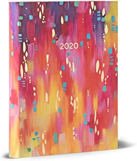 High Note 2020 Planner - Softcover Day Planner 18-Month - Daily Weekly Monthly Planner Yearly Agenda Organizer: July 2019 - December 2020 Fresh and Colorful Sunset Magic 5.75
