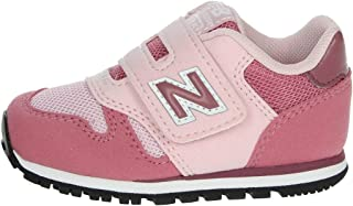New Balance 373 Madder Rose/Navajo Rose Suede Baby Trainers Shoes