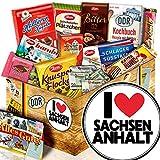 I Love Sachsen-Anhalt - Sachsen-Anhalt Andenken - Schokolade DDR-Box L
