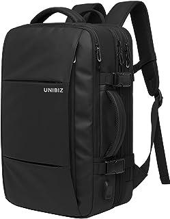 [ユニビズ] ビジネス リュック 大容量 黒 ビジネスリュック 3way pc リュックサック パソコン メンズ pcバッグ 出張