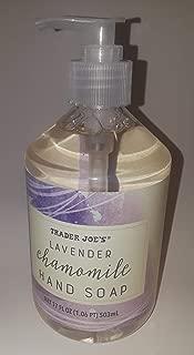 Trader Joes Lavender Chamomile Hand Soap