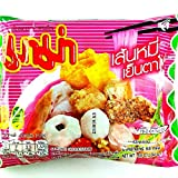(55g. x 5 Packs) Rice Vermicelli Yentafo Flavour Quick Cooking Thai Instant Noodles Fest Spicy Food