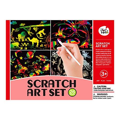 Kids' Scratchboard Art Kits