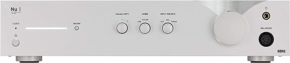 KORG Nu 1 1BIT DSD11.2MHz USB-DAC/ADC スタンド・アロン駆動可能 アナログRIAA回路搭載プリアンプ フォノ・アンプ搭載