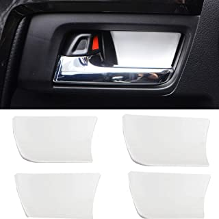 YIFENG Inner Door Handle Bowl Cover Trim Frame Sticker Aluminum Alloy Universal Decoration Accessories for Toyota 4Runner 2010 2011 2012 2013 2014 2015 2016 2017 2018 2019 2020