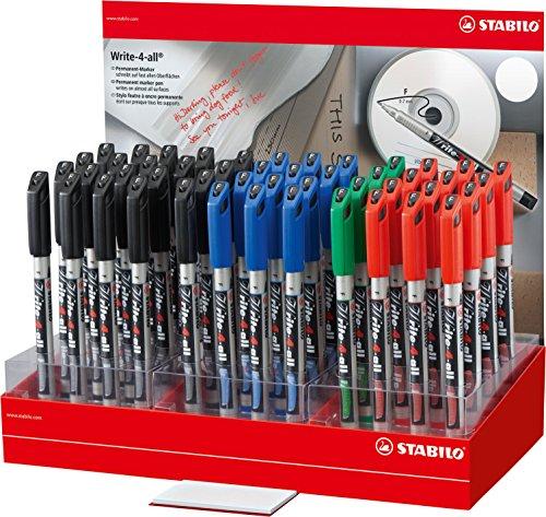 STABILO 156/48-1 Write-4-all Pen – verschillende kleuren (4 stuks)