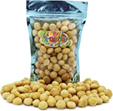 Macadamia Nuts, Roasted & Salted, Non-GMO, Gluten-Free, Healthy Fat, Kosher Certified, Emergency Food, Survival Food, 1 Pound