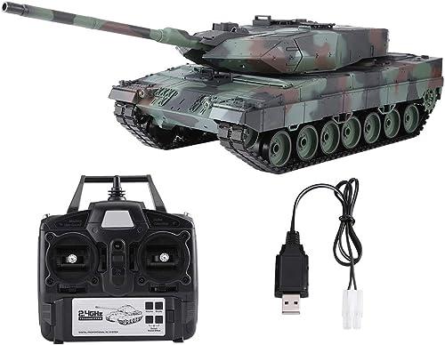 hasta 60% de descuento Dilwe Tanque RC, 1 1 1 16 2.4GHz Modelo Leopard 2 A6 con Torreta Giratoria de 320 Grados Mover Barril (Heng Long 3889-1)  marcas de diseñadores baratos