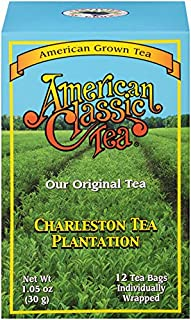 Charleston Tea Plantation Garden, American Classic Pyramid Teabags, 12 Count