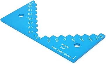 Medidor de profundidad de mesa de enrutador, medidor de profundidad de sierra de mesa, medidor de altura de sierra de mesa de aplicación amplia, para herramienta de bricolaje de calibre de