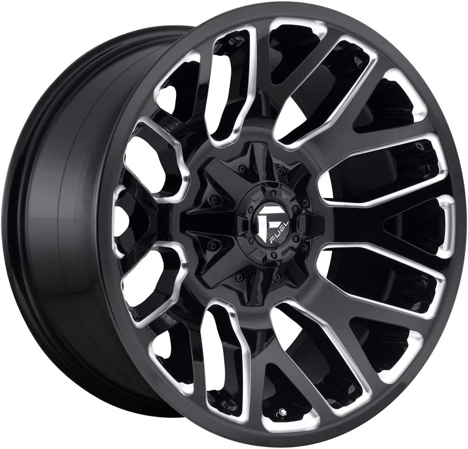 Fuel Ranking TOP7 Offroad D623 WARRIOR BLACK Now free shipping Wheel with Painted Comp TPMS and