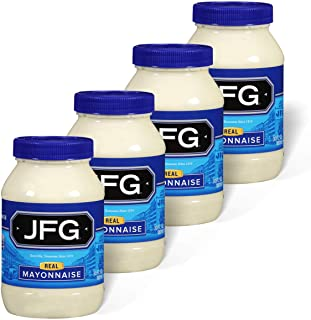 JFG Real Mayonnaise 30 oz. Jar (Pack of 4)