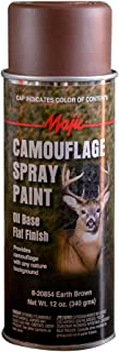 Majic Paints 8-20854-8 Camouflage Spray Paint, Aerosol, Earth Brown