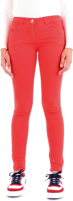 Patrizia Pepe Women's BJ1186AS04R626 Red Cotton Jeans