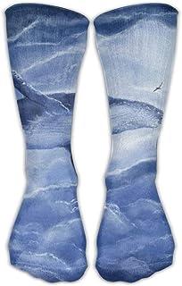 靴下 抗菌防臭 ソックス ユニセックスクラシックソックスファンタジークジラ雲スポーツストッキング