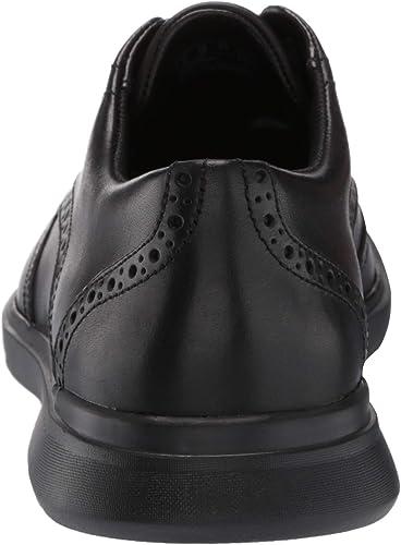 Clarks Un Lipari Ave Mens Black Oxfords /& Lace Ups Wingtip /& Brogue Shoes 7