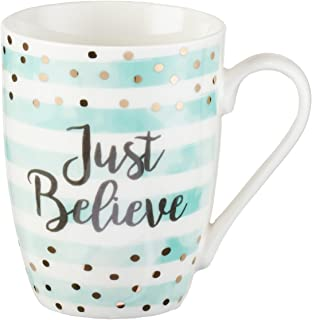 Just Believe, Mark 5:36 Coffee Mug, Sparkle Collection