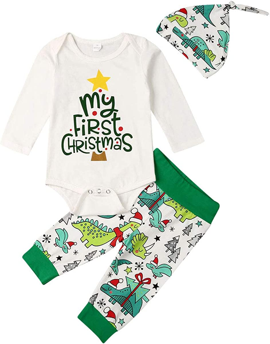 Toddler online shopping Newborn New York Mall Baby Girls Boys Outfits My Christmas Christm 1st