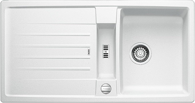Weiß Lexa 5 S, Küchenspüle aus Silgranit PuraDur, wei, reversibel, 1 Stück, 518645