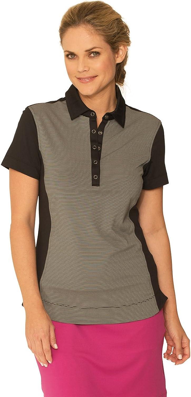 Chase54 Womens Lounge Short Sleeve Polo Shirt
