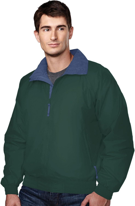 Men's Windproof/Water Resistant Fleece Shell Volunteer Jacket (13 Colors,S-6XLT)