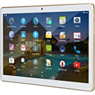 """10 inch Tablet Android 10.1"""" IPS Octa Core 4GB RAM 64GB ROM YELLYOUTH Unlocked Tablet PC with Sim..."""