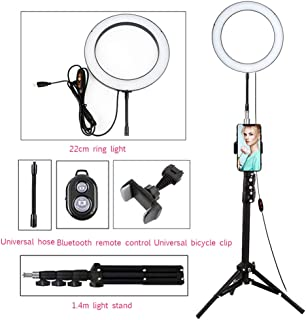 Selfie ZFD Led Ring Light with Stand Makeup Light Wireless Remote Controller 16cm with Adjustable Color Temperature for YouTube Makeup Video Shooting Vlog
