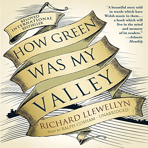 How Green Was My Valley audiobook cover art