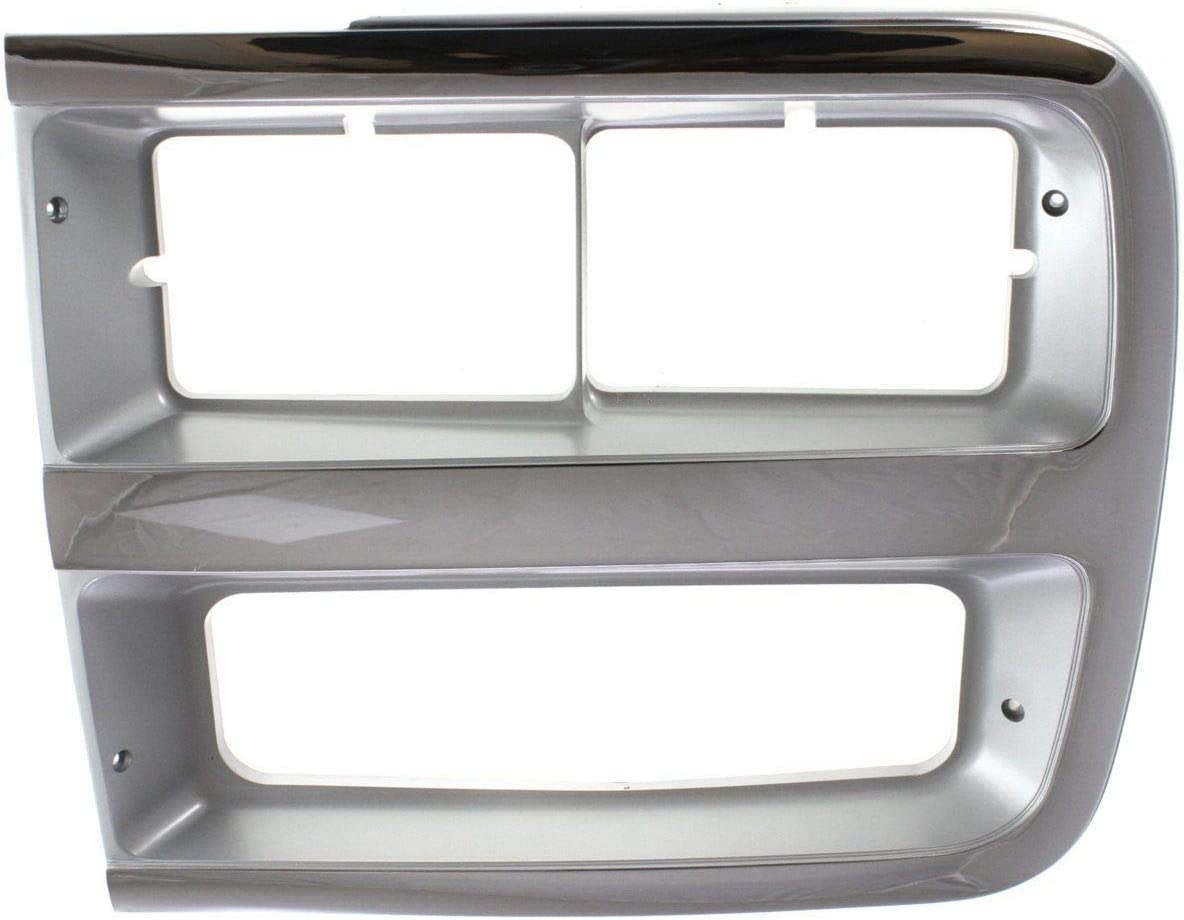 Headlight Door For 1992-1994 Chevrolet G20 Chrome Gray Max 53% OFF Left and 67% OFF of fixed price