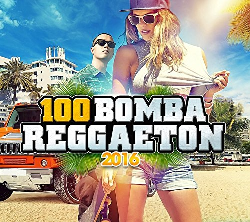 100 Reggaeton Bombs 2016 (5 CD)