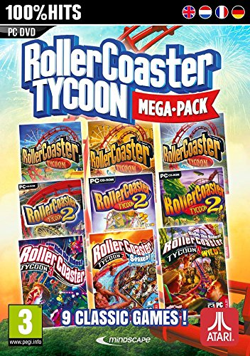 Rollercoaster Tycoon - Mega Pack 9 jeux classiques - [Edizione: Francia]