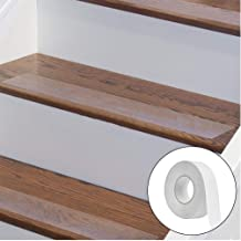 Hukimoyo Anti slip tape, Anti-skid tape for stairs, Prevents risk from slippery surfaces, Self-Adhesive Waterproof Transpa...