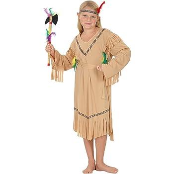 Vegaoo - Disfraz de India para niña - S 4-6 años (110-120 cm ...