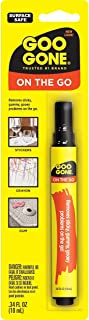 Goo Gone on the Go Pen - Adhesive Remover - Quickly Removing Stubborn Stickers Crayon Tape and More