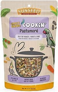 Sunseed Crazy Good Cookin Bird Treat, 16 Ounces, Pastamoré with Carrots Lentils and Peas